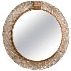 Venetian Wall Mirror by Venini
