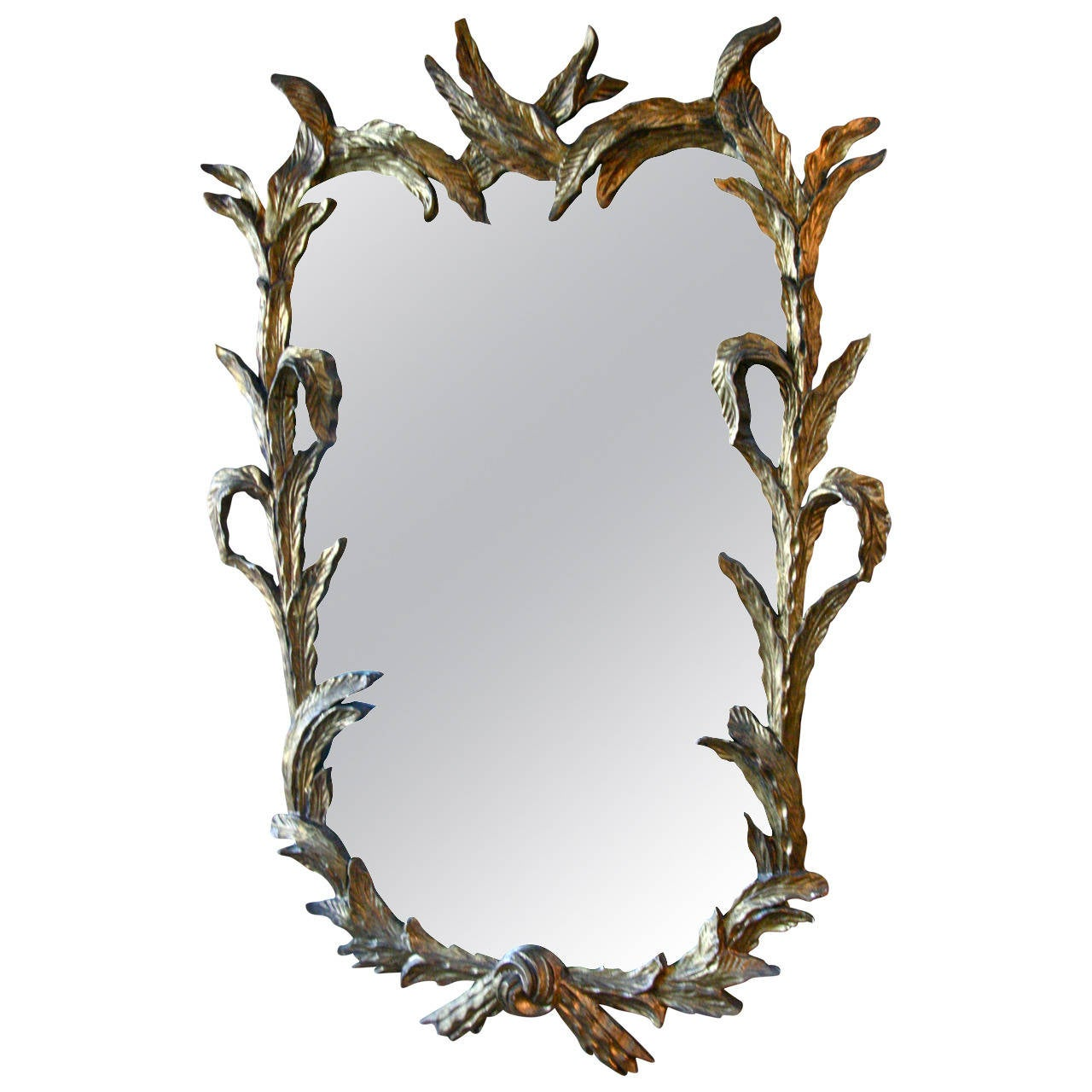 Italian Gold Leaf Mirror