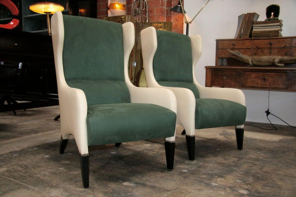 Pair of Gio Ponti Armchairs 2