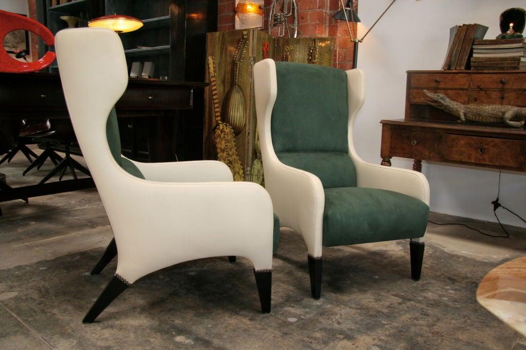 Pair of Gio Ponti Armchairs 3