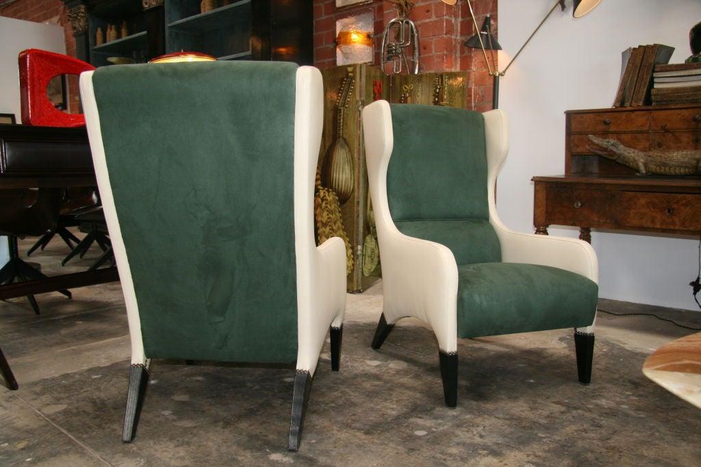 Pair of Gio Ponti Armchairs 4