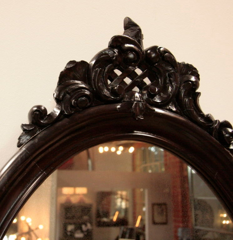 Pair of Italian 19th Century Frames In Good Condition For Sale In Los Angeles, CA
