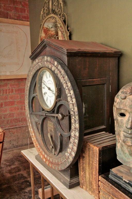German Punching Clock 1920s 4