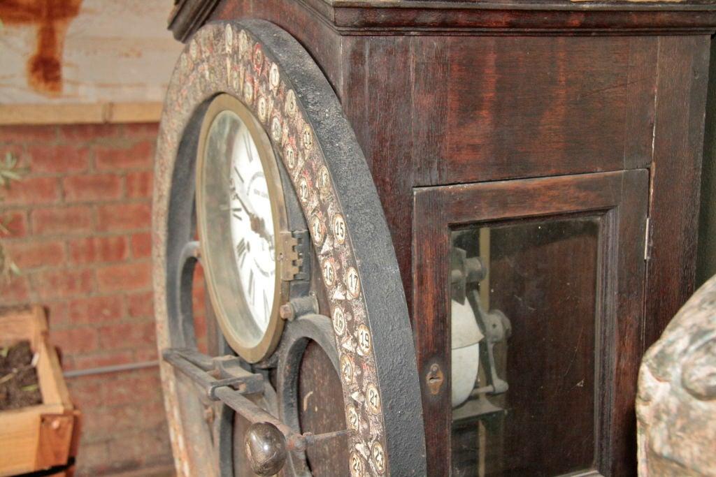 German Punching Clock 1920s 7