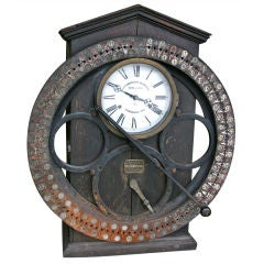German Punching Clock 1920s