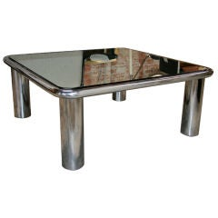 Italian Coffee Table by Mario Bellini B&B, 1970s