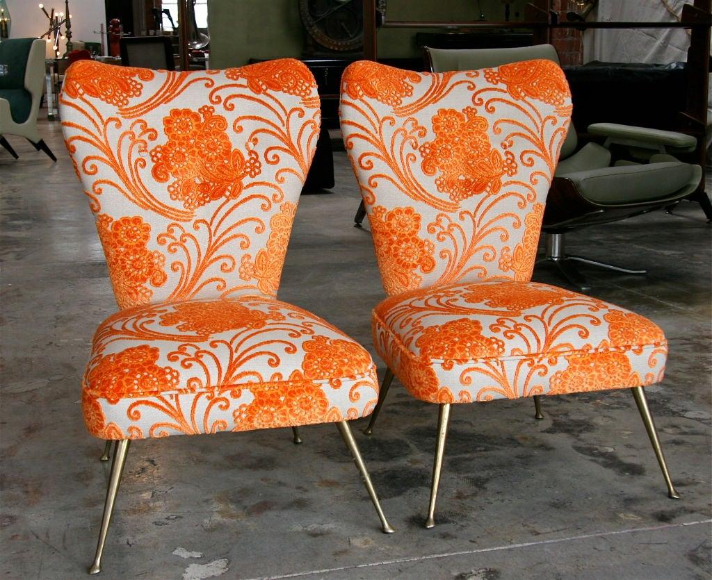Italian Carlo de Carli Chairs 1950/60 In Good Condition For Sale In Los Angeles, CA
