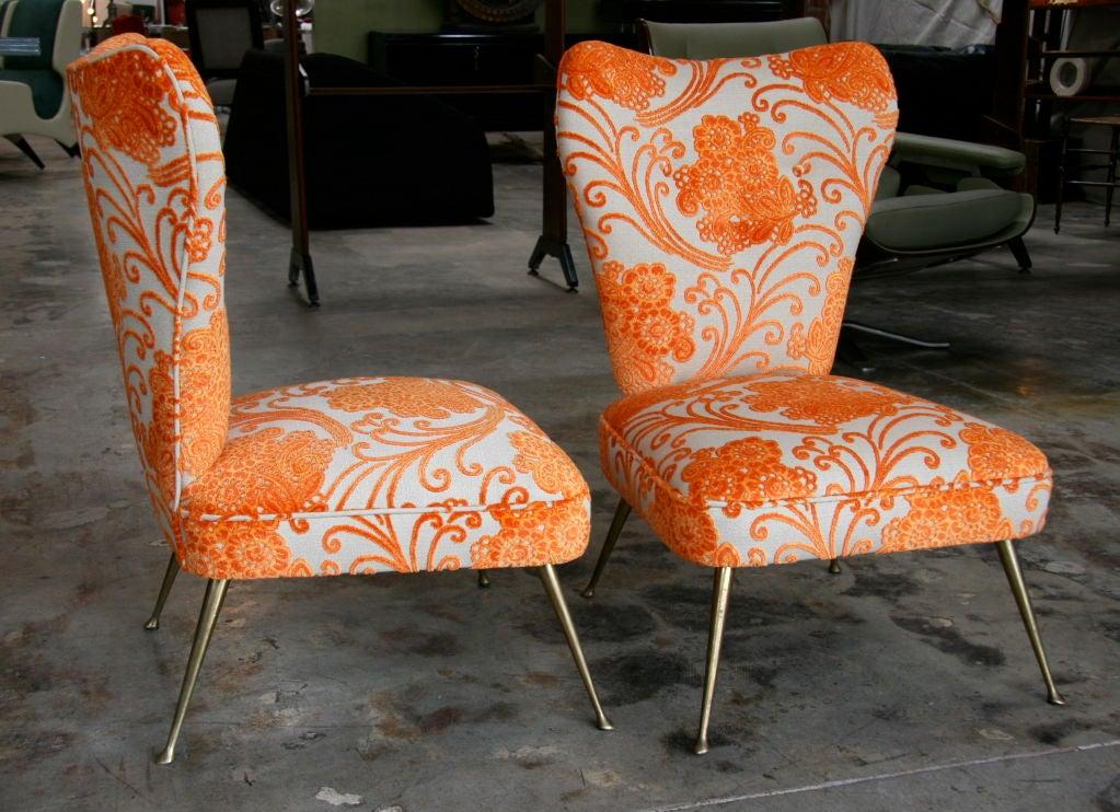 Mid-20th Century Italian Carlo de Carli Chairs 1950/60 For Sale