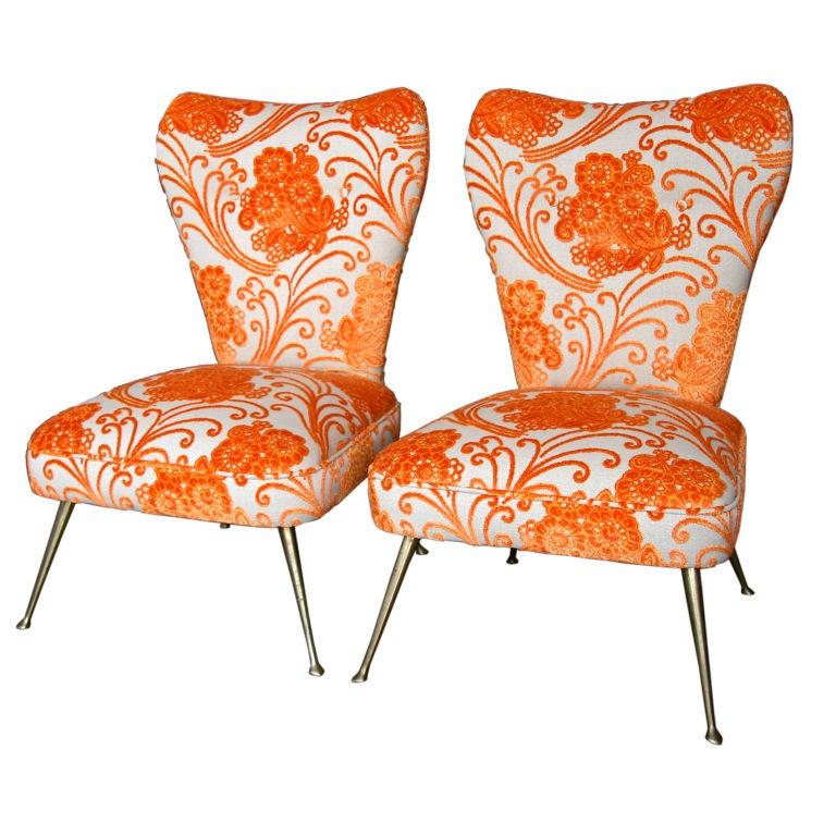 Italian Carlo de Carli Chairs 1950/60 For Sale