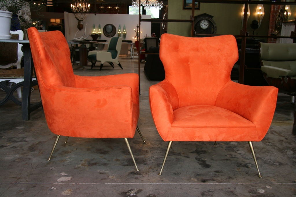 Italian Armchairs 1950-60's At 1stdibs