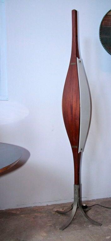 Italian Rare Floor Lamp Attributed to Ico Parisi For Sale
