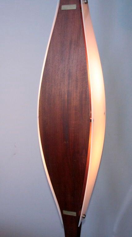 Mid-20th Century Rare Floor Lamp Attributed to Ico Parisi For Sale