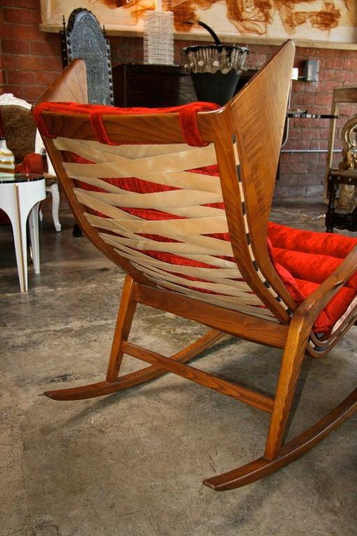 Pair Of Gio Ponti Rocking Chairs At 1stdibs