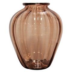 Napoleone Martinuzzi Italian Glass Vase