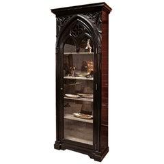 Italian 19th C. Gothic Cabinet