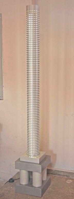 Industrial Chicago Tribune Floor Lamp by Matteo Thun, Italian, 1980s For Sale