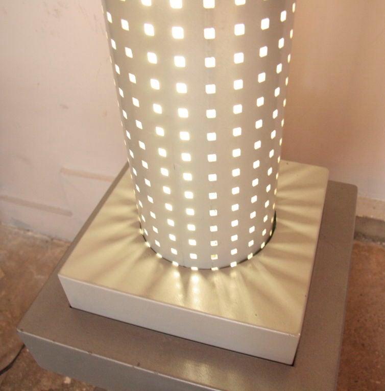 Iron Chicago Tribune Floor Lamp by Matteo Thun, Italian, 1980s For Sale