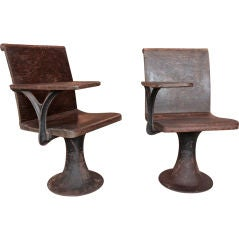 Vintage 1920s School Chairs