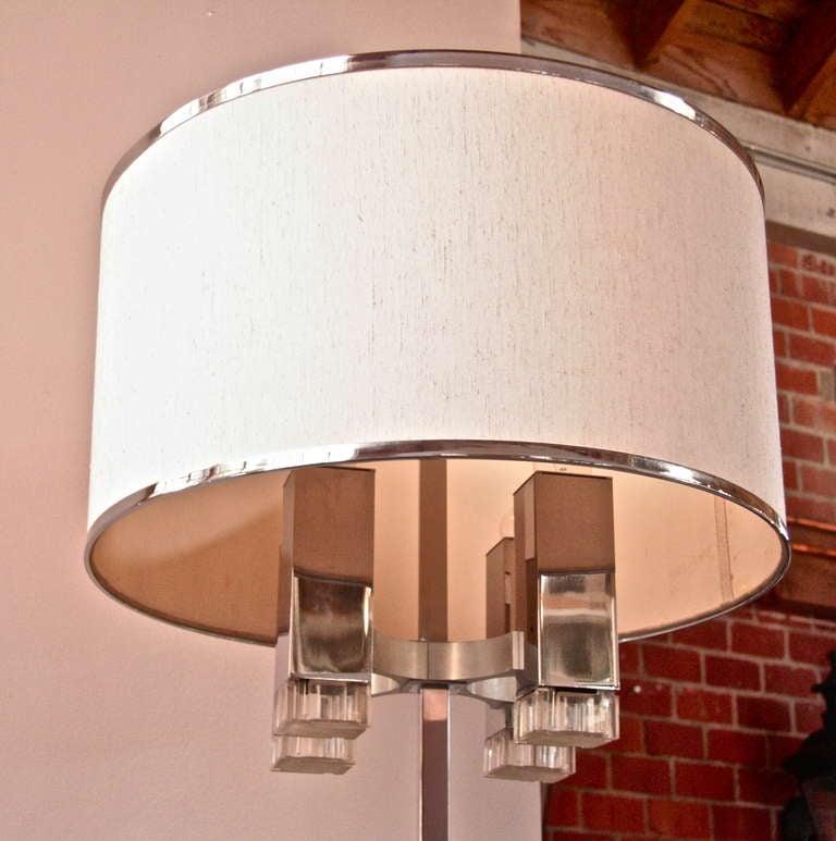 Mid-20th Century Sciolari Floor Lamp For Sale