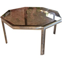 Italian 70's Octagonal Table
