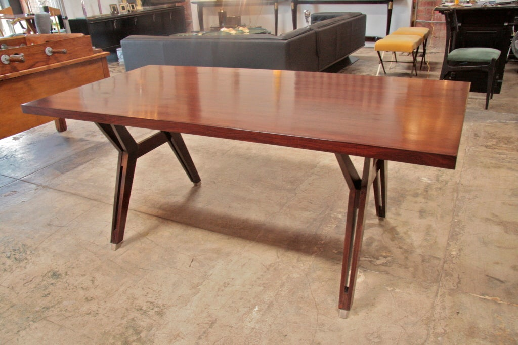 Ico Parisi Writing Table by MIM For Sale 4