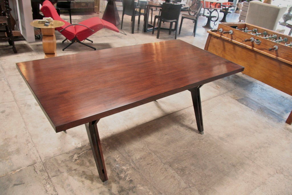 Mid-20th Century Ico Parisi Writing Table by MIM For Sale
