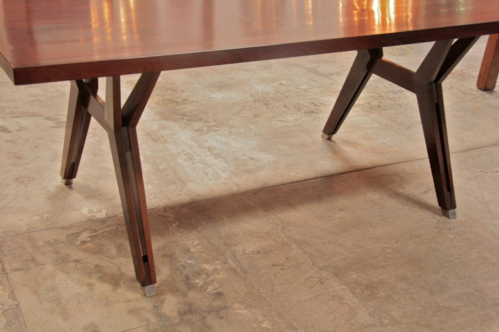 Ico Parisi Writing Table by MIM For Sale 1
