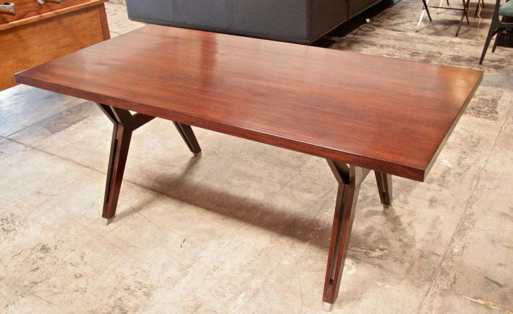 Ico Parisi Writing Table by MIM For Sale 2