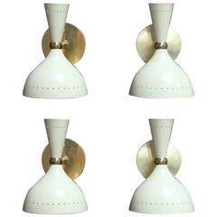 Pair of Italian 1950s Sconces