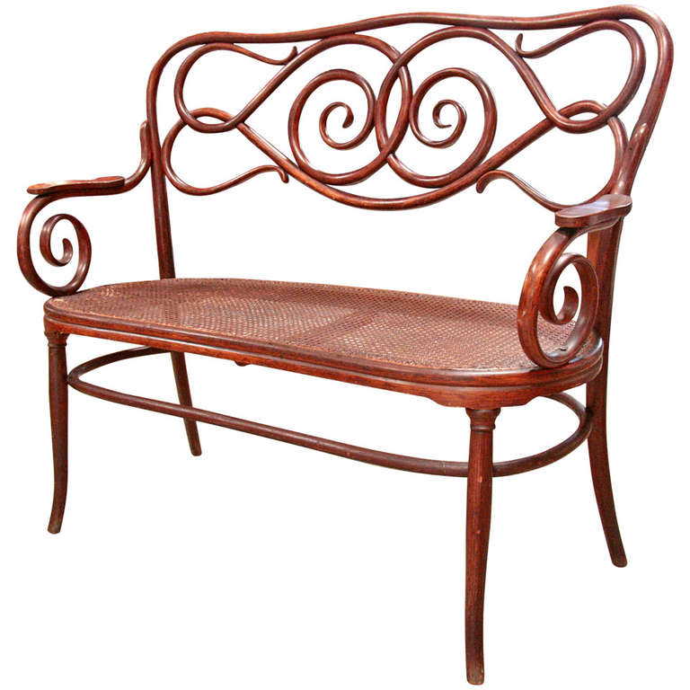 Terrific Thonet Bentwood Bench At 1Stdibs Gmtry Best Dining Table And Chair Ideas Images Gmtryco