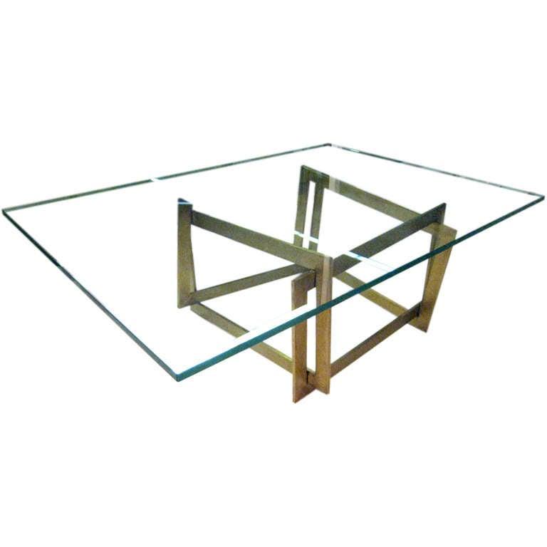 "Raniero Aureli's Custom ""Soqquadro"" Coffee Table"