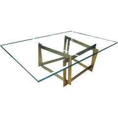 "Raniero Aureli's Custom ""Soqquadro"" Coffee Table"