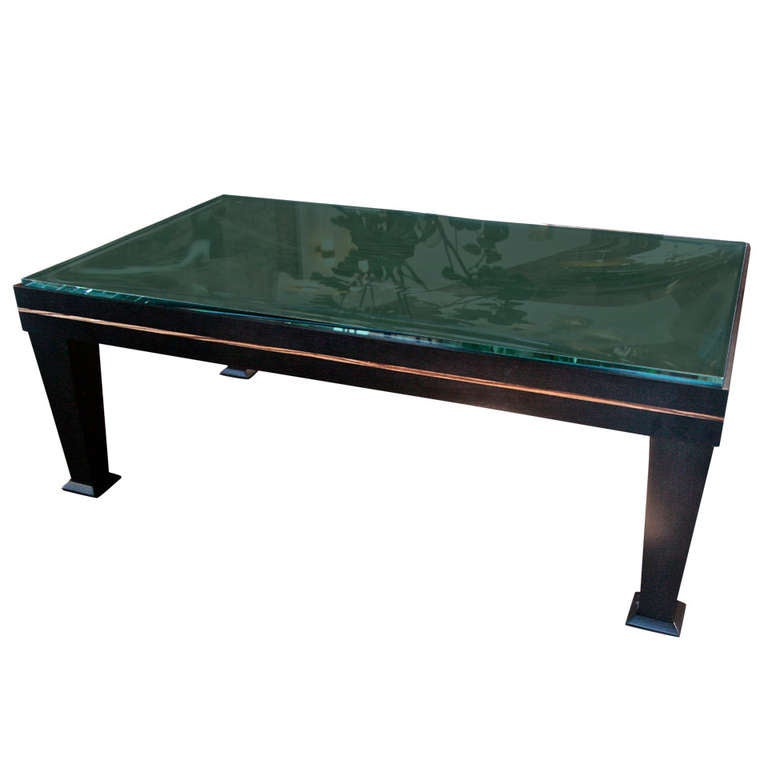80s wood and glass top table at 1stdibs for 80s furniture