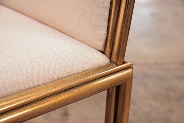 Italian Chairs In Brass 1960 For Sale 1