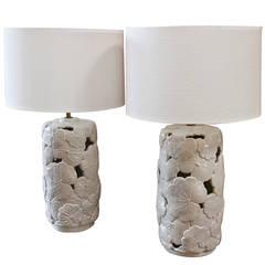 """Italian Ceramic Lamps 1960s from """"Vivai del Sud"""""""