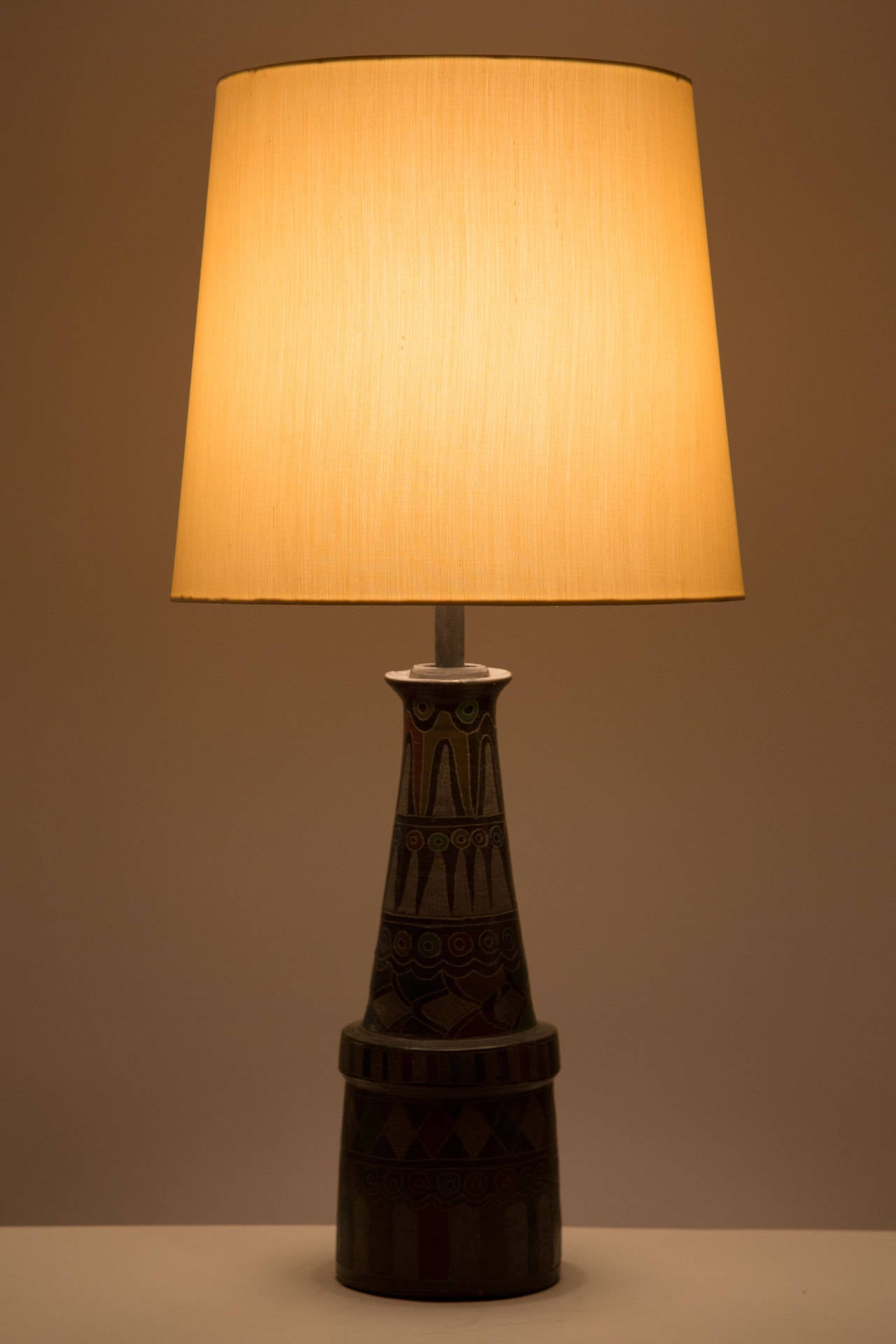 Unique Table Lamps : Unique pair of table lamps from oaxaca at stdibs