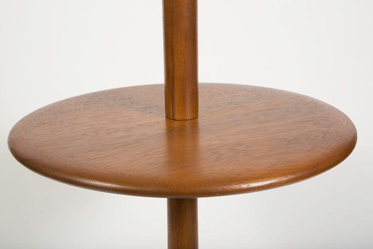 american turned wood floor lamp at 1stdibs. Black Bedroom Furniture Sets. Home Design Ideas