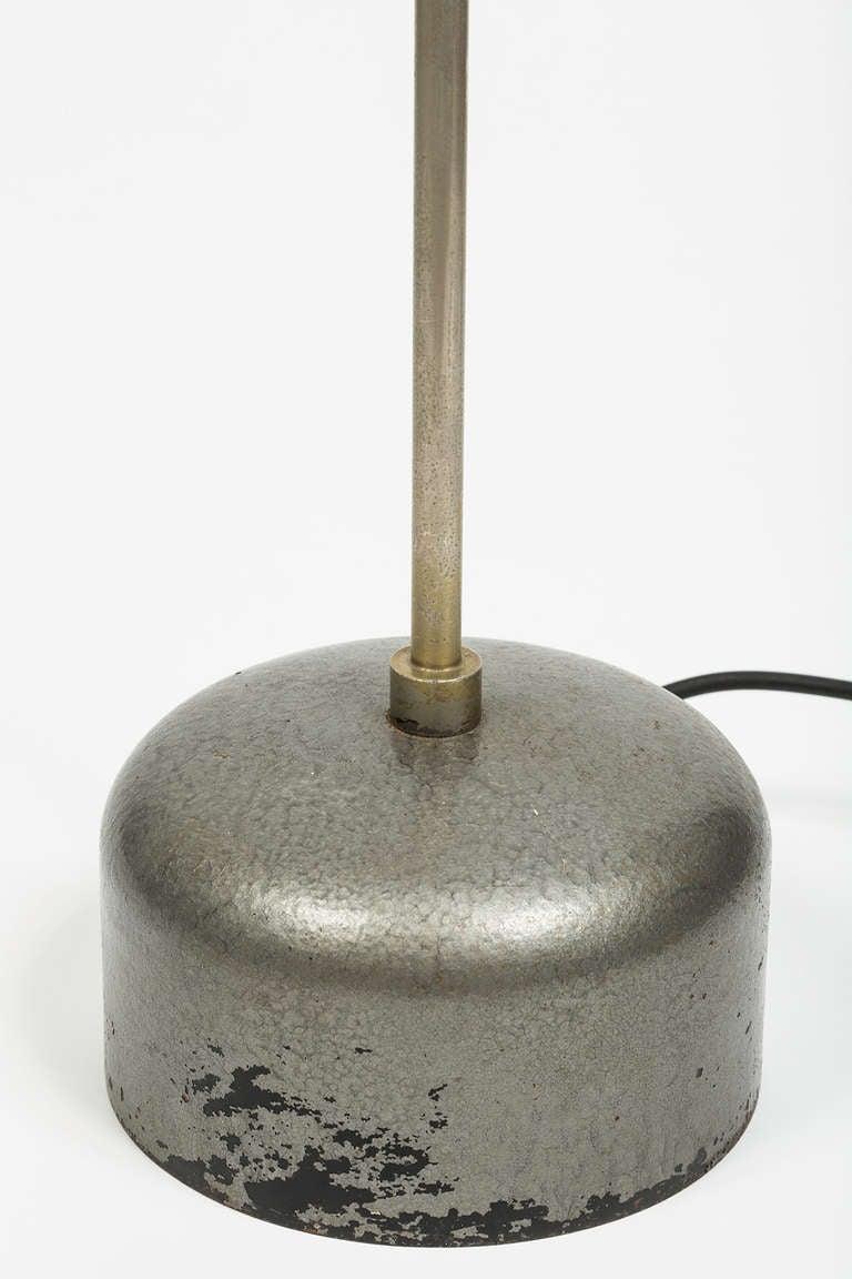 Steel Rare Angelo Lelli Floor Lamp For Sale