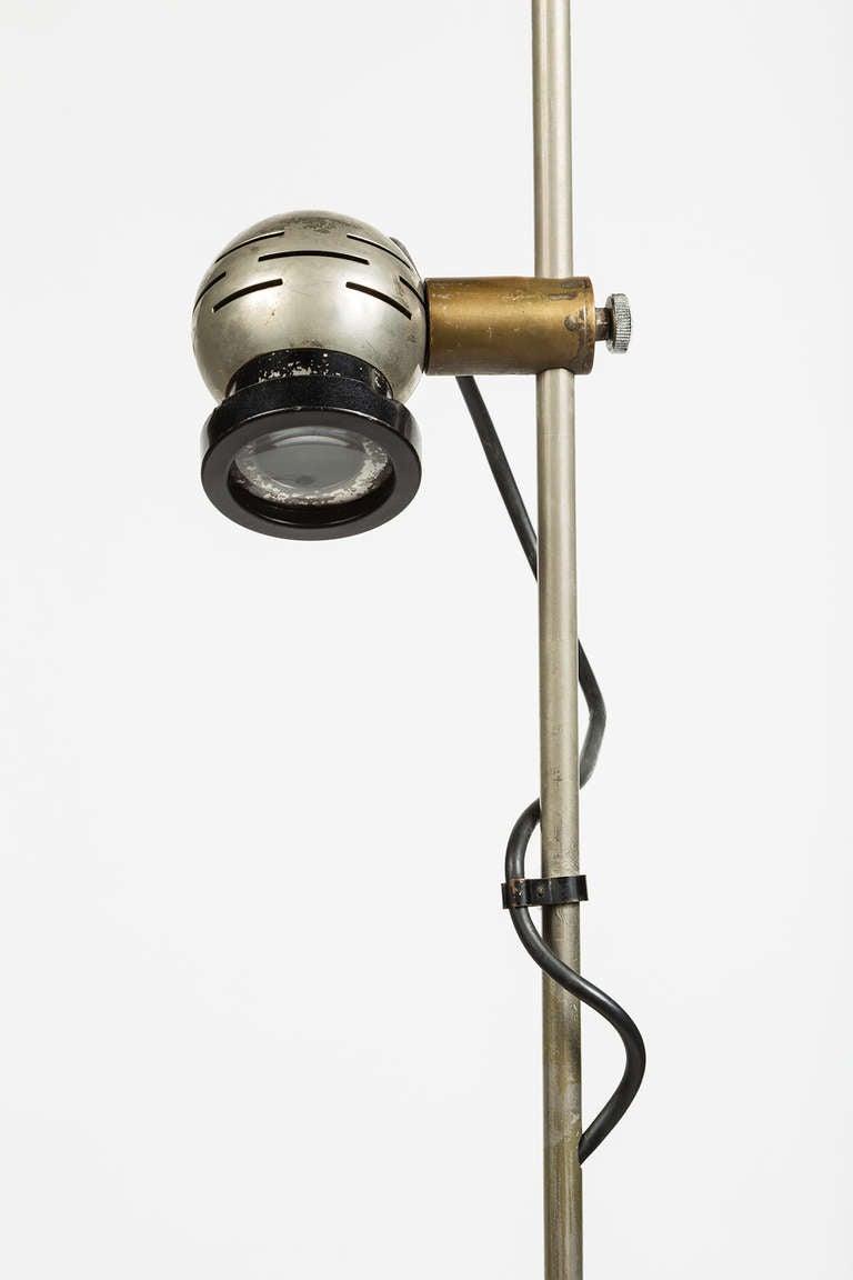 Italian Rare Angelo Lelli Floor Lamp For Sale