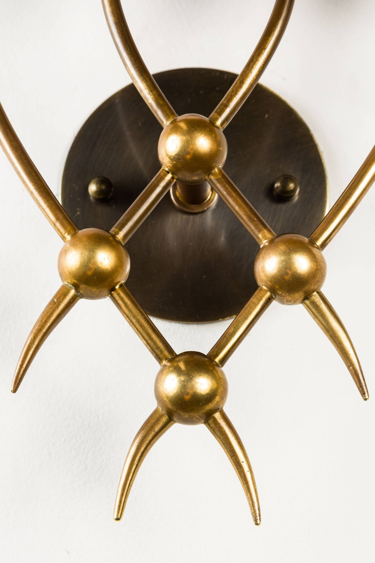 Pair of Sconces by Guglielmo Ulrich In Good Condition For Sale In Los Angeles, CA