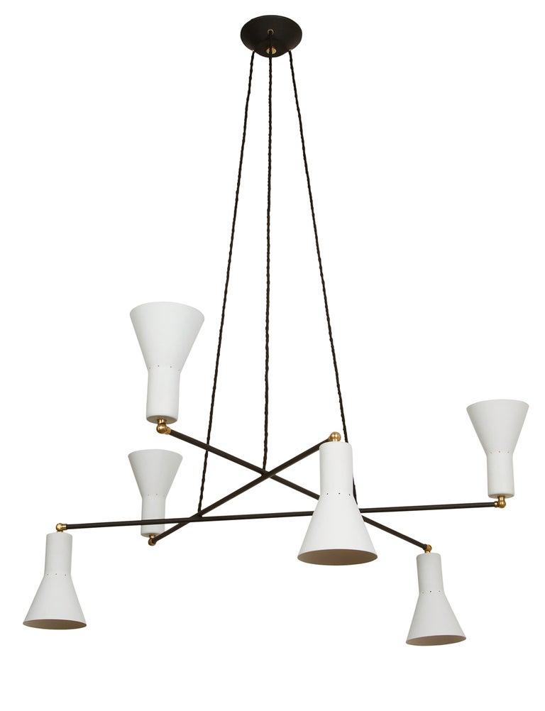 Rewire multicone chandelier, 2019