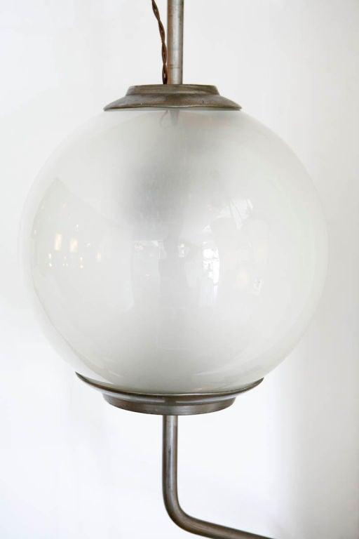 Mid-Century Modern  Pallone Wall Lamp by Luigi Caccia Dominioni for Azucena For Sale