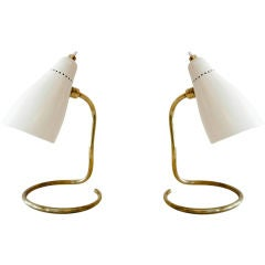Pair of Petite Italian Table Lamps