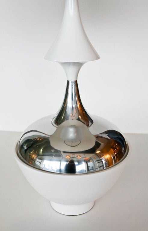 Mid-20th Century Pair of Tony Paul Table Lamps