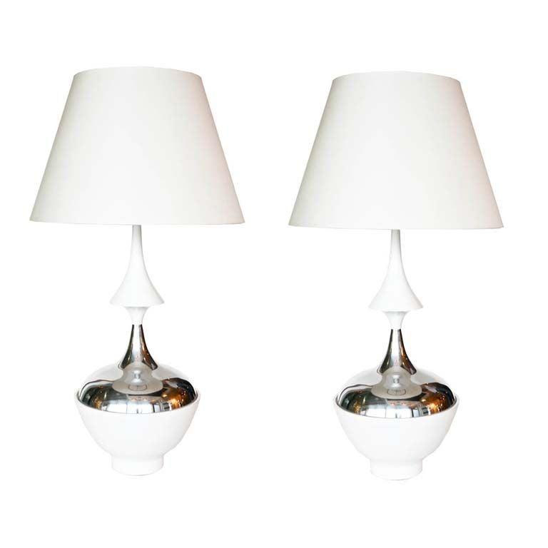 Pair of Tony Paul Table Lamps