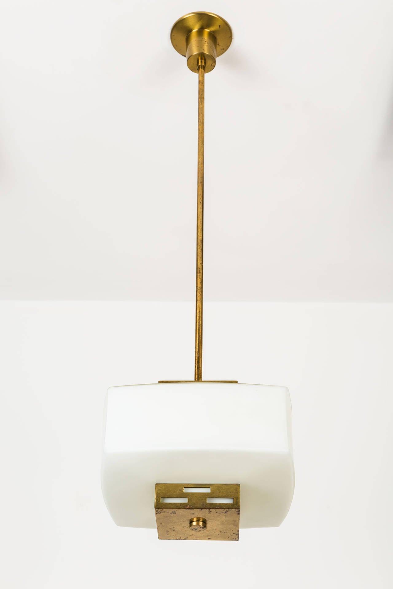 Italian Angelo Lelli for Arredoluce Pendant For Sale