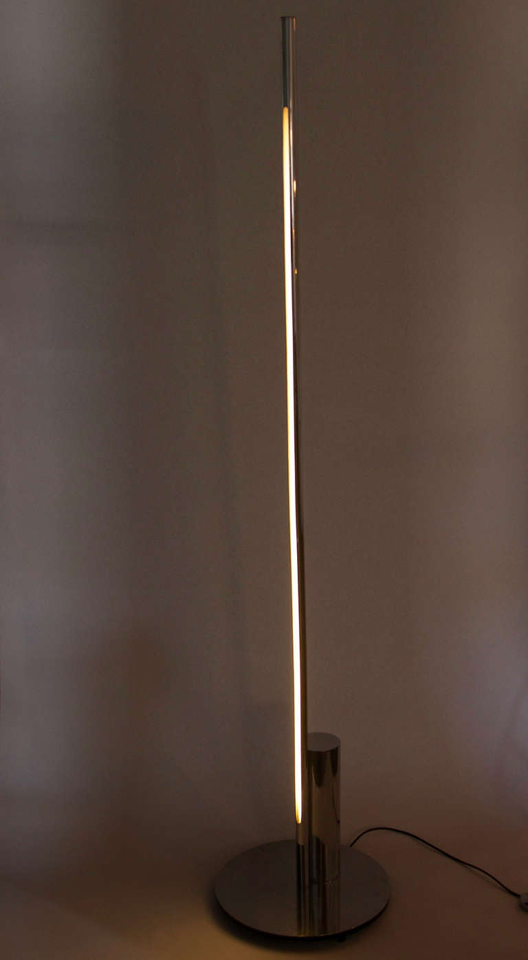 Linea Floor Lamp by Nanda Vigo for Arredoluce 2