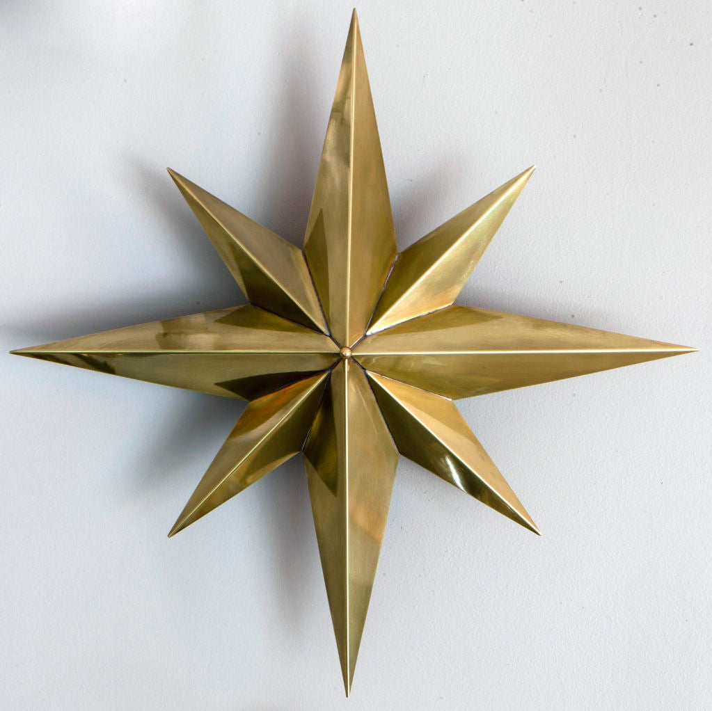 American Rewire Custom Star Wall/Ceiling Light For Sale