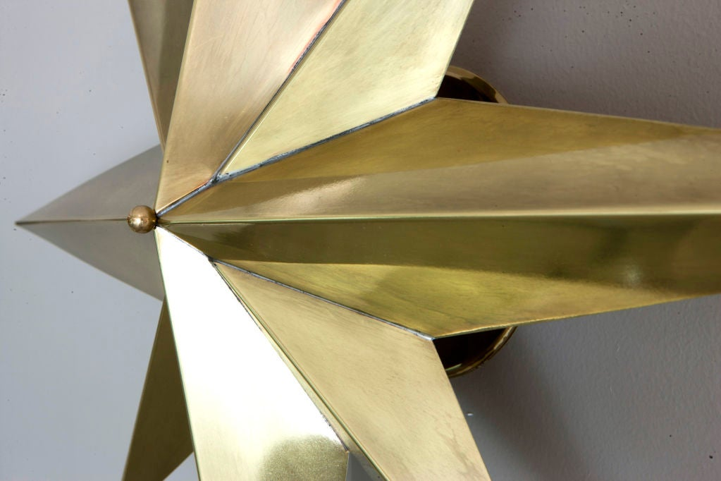 Rewire Custom Star Wall/Ceiling Light In New Condition For Sale In Los Angeles, CA