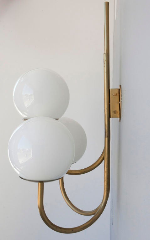 Wall Candle Lamps : Pair of Sergio Asti Wall Lamps for Candle at 1stdibs